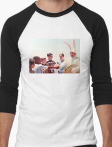 Chris Farley Easter Bunny Black Sheep Photo Men's Baseball ¾ T-Shirt