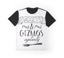 Gadgets and Gizmos Aplenty Graphic T-Shirt