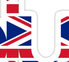 Blur UK Logo Sticker