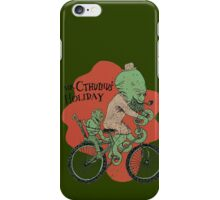 Mr. Cthulhu's Holiday iPhone Case/Skin