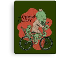 Mr. Cthulhu's Holiday Canvas Print