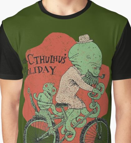 Mr. Cthulhu's Holiday Graphic T-Shirt