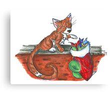 Catnip Christmas Canvas Print