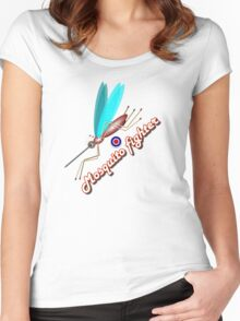Mosquito fighter Women's Fitted Scoop T-Shirt