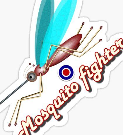 Mosquito fighter Sticker