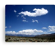 Clouds And More Clouds Canvas Print