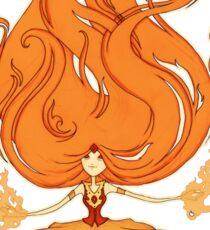 Princess of Flame Sticker