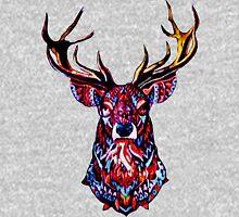 "Ornate Deer Big Brother ""AUSTIN SUCKS"" Alternate Design Unisex T-Shirt"