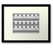 """""""Carbon Nanotubes - GREY""""© Framed Print"""