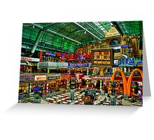 Canal Walk Mall, Cape Town, South Africa Greeting Card