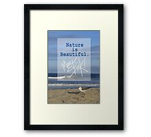Men Stink! Framed Print