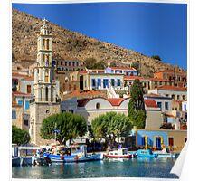 Agios Nikolaos Church Poster