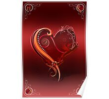 The Chromatic Deck - Ace of Hearts Poster