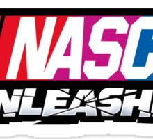 nascar unleashed shirt Sticker