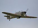 Hawker Hurricane MK12A by Nigel Bangert