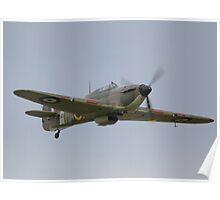 Hawker Hurricane MK12A Poster