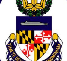 USS Maryland (SSBN-738) Crest Sticker