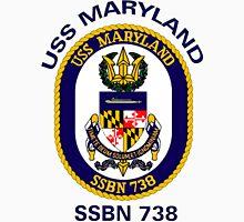 USS Maryland (SSBN-738) Crest T-Shirt
