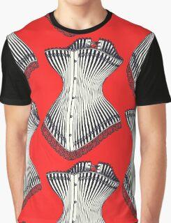Corset Lace Graphic T-Shirt