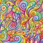 Rainbow Maggots by Tatjana Blank