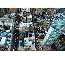 New York skyscrapers Photographic Print
