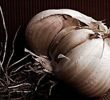 Garlic from my Garden by Clare Colins