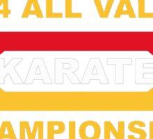 1984 All Valley Championship Sticker