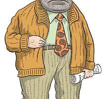Grumpy Gramps Thomas Mulcair by MacKaycartoons