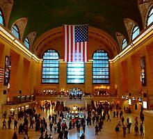 Grand Central Station New York City by Magdalena Warmuz-Dent