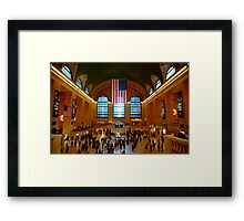 Grand Central Station New York City Framed Print