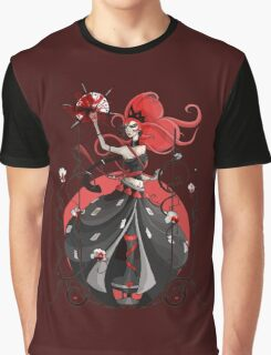 Queen of Hearts: Painting the Roses Red Graphic T-Shirt
