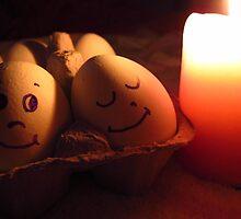 love, easter, eggs by priyaa