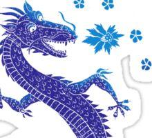 Northern Lights Dragon Sticker