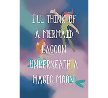 Mermaid Lagoon Photographic Print