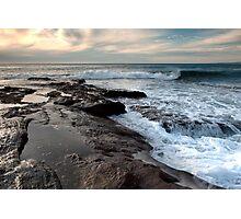 Incoming Waves - Red Bluff Beach - Kalbarri Photographic Print