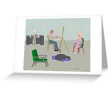 ARTISTS STUDIO Greeting Card