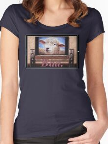 Electric Sheep Women's Fitted Scoop T-Shirt