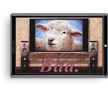 Electric Sheep Canvas Print