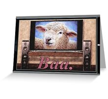 Electric Sheep Greeting Card