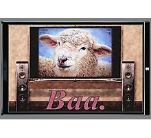 Electric Sheep Photographic Print