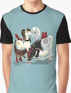 My little Vampires: Drusilla and Spike Graphic T-Shirt