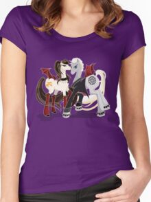My little Vampires: Drusilla and Spike Women's Fitted Scoop T-Shirt