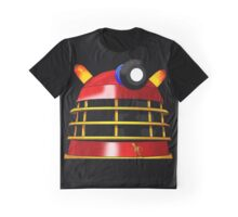 Red and Gold Dalek Graphic T-Shirt