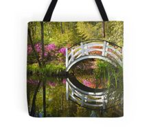 Charleston SC Magnolia Plantation Spring Blooming Azalea Flowers Garden Tote Bag