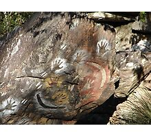 Rock Paintings Photograph Photographic Print