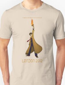 Preserve the Space-Time Continuum: The Doctor in London 2012 Unisex T-Shirt