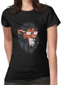 Cool Summerish Scar Womens Fitted T-Shirt