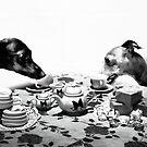 Doggy Tea Party by AHakir