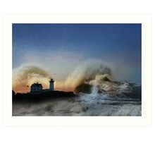 The Nubble in Trouble Art Print