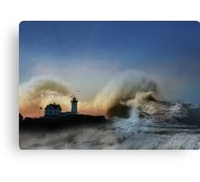 The Nubble in Trouble Canvas Print